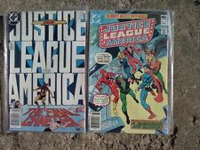 Lot of 2 Justice League of America D.C.Comics August 1980 #181 & April 1987 #261