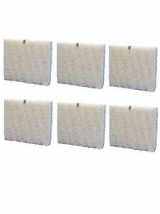 (6) High Output Humidifier Water Pad Filters for Aprilaire A35W, A35W-PDQ-6