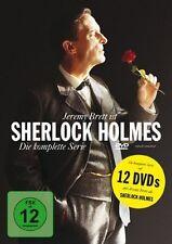 SHERLOCK HOLMES, Die komplette Serie (Jeremy Brett) 12 DVDs NEU+OVP