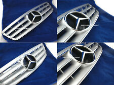 MERCEDES W203 CL GRILLE C280 C320 C240 C200 SLS TUNING GRILL C-CLASS SILVER