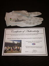 Alistair Presnell Game Used Signed Autographed Pga Footjoy Golf Glove-Coa-Proof