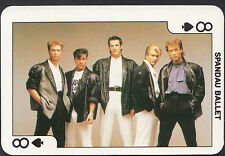 Dandy Gum Card - Rock'n Bubblegum Card - Pop Group - Spandau Ballet