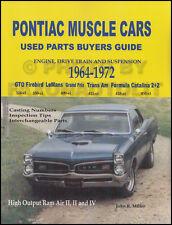 Pontiac GTO Engine Parts Interchange Manual 1965 1966 1967 1968 1969 1970 1971
