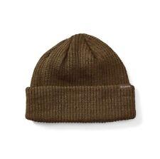 Filson 11030235 Virgin Wool Knit Otter Green Cuff Watch Cap Beanie 2f999f534