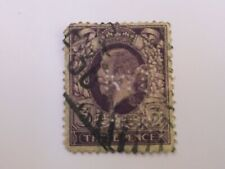 GB 1935 SG444 KING GEORGE V 3D REDDISH VIOLET WITH MCM PERFIN - USED KGV