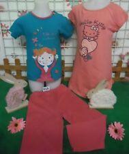 vêtements occasion fille 6 ans,chemise de nuit HELLO KITTY,pyjamas coton  DPAM