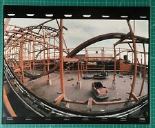 Large Photograph Playland at the Beach SF Abandoned Roller Coaster 1/3