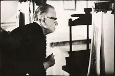EVELYN RICHTER - Otto Dix in der Druckwerkstatt - Fotografie 1964