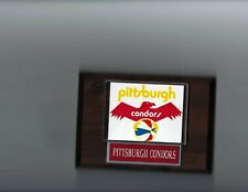 PITTSBURGH CONDORS PLAQUE BASKETBALL ABA
