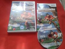 TAGLIALEGNA LOGGER PARTY GAME NINTENDO WII COMPLETO PAL