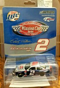 RUSTY WALLACE #2 NASCAR WINSTON CUP CHAMPION 1989 ACTION Rare