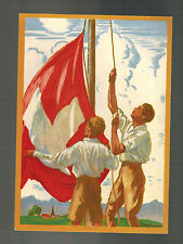 1929 Switzerland Bundesfeier Postal Stationery Postcard National Festival