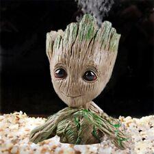 Aquarium Baby Groot Tree Man Action Figure Flowerpot Toy Cute Decoration Gift