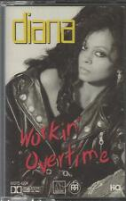 1989 R&B SOUL CASSETTE: DIANA ROSS - WORKIN' OVERTIME Paradise THIS HOUSE Motown