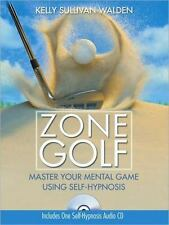 New, Zone Golf with CD: Master Your Mental Game Using Self-Hypnosis, Sullivan Wa