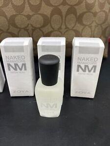 NEW Zoya Naked Manicure Satin Seal New In Box .5oz Full Size