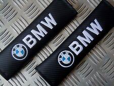 2 DELUXE PU CARBON FIBER Seat Belt Pads Fits BMW - Z3 Z4 X1 X3 X5 M3 320 325i