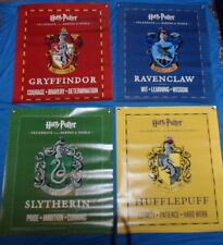 Rare Lot 4 Harry Potter Doubled Sided Vinyl Banner/Posters Promo Barns & Noble