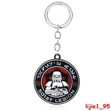 Star Wars The Rise of Skywalker 501st Legion Stormtrooper Alloy Keychain Keyring