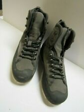 VINTAGE SIMMS FLY FISHERMAN SAGE GREEN BOOTS WOMENS MED 8 FELT STUDDED SOLES