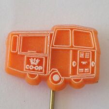 Co-op European Food Truck Motoring Pin Badge Vintage Auto Memorabilia (N18)