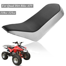 PVC Vinyl Foam Seat For 110cc 125cc Racing Style Quad Dirt Bike ATV 4-Wheeler