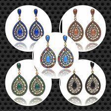 Brass Cubic Zirconia Women Earrings Indian Jewellery