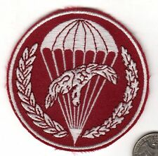 Unknown post WWII Poland Parachute Airborne Patch Eagle Jump Wings Parachute