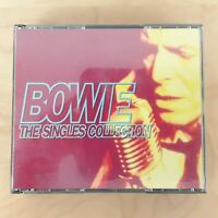 DAVID BOWIE THE SINGLES COLLECTION 37 TRACKS 2 CD VERY BEST OF GREATEST HITS