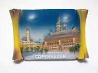 Kopenhagen Magnet Dänemark Souvenir Poly Rolle Rathaus Copenhagen