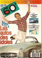 RETROVISEUR HS 1990 SPECIAL ANNEES 60, MUSCLE CARS, VOITURES DES IDOLES AFFICHES