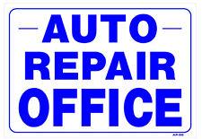 """Auto Repair Office 14""""x20"""" Sign - AP-50"""
