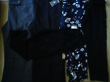 5x Bundle Donna Pantaloni Leggings Taglia 16 (0.96)