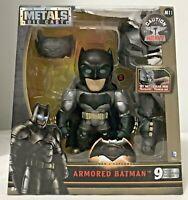 """Jada Metals DC Batman V Superman Armored Batman Diecast 6"""" M11"""
