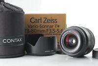 [TOP MINT in BOX] Contax Carl Zeiss Vario Sonnar 28 - 80mm F3.5 - 5.6 Japan 469