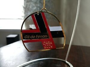 2004 Gil de Ferran CARA Charities Christmas Ornament Indy Car