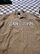 Sean John Beige men's size Large