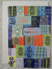 "Happy Father's Day Card with Envelope  ""To Daddy"" (FD-7)"
