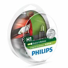 PHILIPS LongLife EcoVision H1 12V 55W 12258LLECOS2 P14,5s Car Headlight Bulb