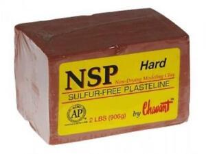 Chavant Clay - NSP Hard (Brown / Terracotta)