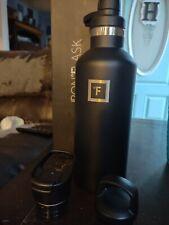 New listing Iron Flask 32oz Midnight Black Water Bottle