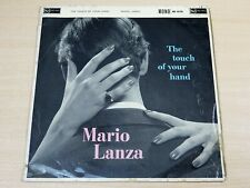 Mario Lanza/The Touch Of Your Hand/1960 RCA Red Seal Mono LP
