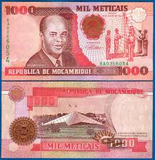 MOSAMBIK / MOZAMBIQUE 1000 Meticais 1991 UNC P.135