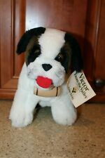 """Dakin Plush St. Bernard 9"""" Victor From The Valley Bank Bancorporation 1979 w/Tag"""