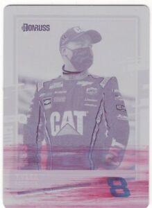 2021 Tyler Reddick Donruss Racing Magenta Printing Plate 1 of 1