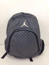 Nike Jordan Gray Black Backpack