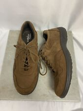 True Spirit by Easy Spirit Women's Sz 7.5 M Esbersh Brown Nubuck Leather Oxfords