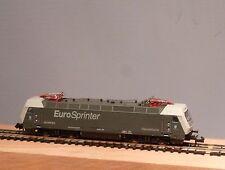 """Minitrix N 12329 Locomotora eléctrica BR ES 64 P """"Dispolok"""" nuevo y emb. orig."""