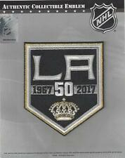 2016 2017 Los Angeles Kings 50th Anniversary Jersey Patch 100% Official Emblem