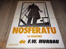 NOSFERATU le vampire   affiche cinema epouvante dracula f.w murnau